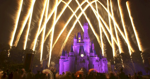 Fireworks over Cinderella's Castle at the Magic Kingdom, FLTravelLife.com