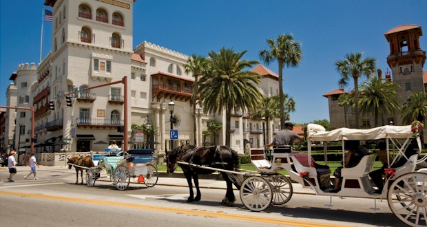 Take a romantic carriage ride in St. Augustine, FLTravelLife.com